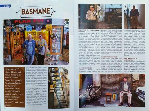 Sizleri bu ay tarihi bir semte götürüyorum: Basmane'ye
